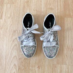 Dirty Laundry Celebration Sparkle Tennis Shoes